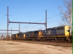 CSX X-037 engine move